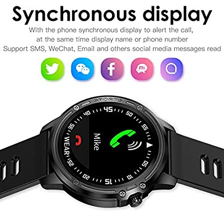 Amazon.com: Smart Watch, IP68 Waterproof Reloj Hombre Mode ...