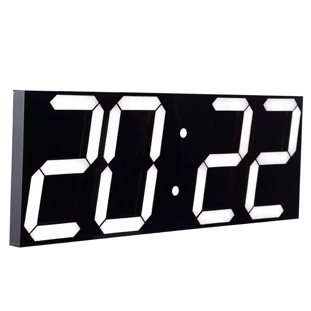 Chkosda Remote Control Jumbo Digital Led Wall Clock Ledclockcircuitboard2jpg Multifunction Large Calendar Minute Alarm Countdown
