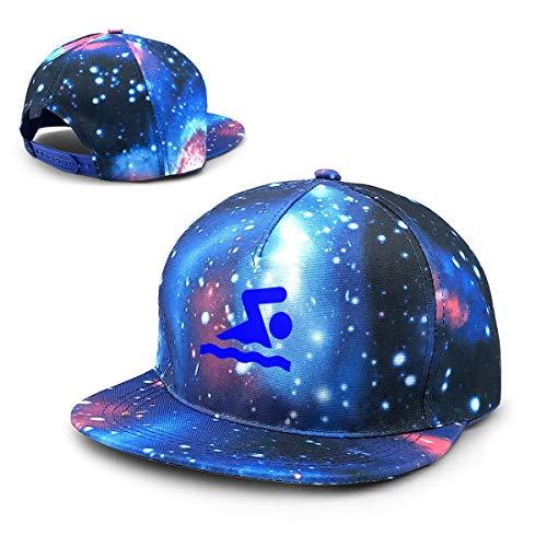 KMYUROOL Star Hat Swimmer Sport Summer Sunshade Hat