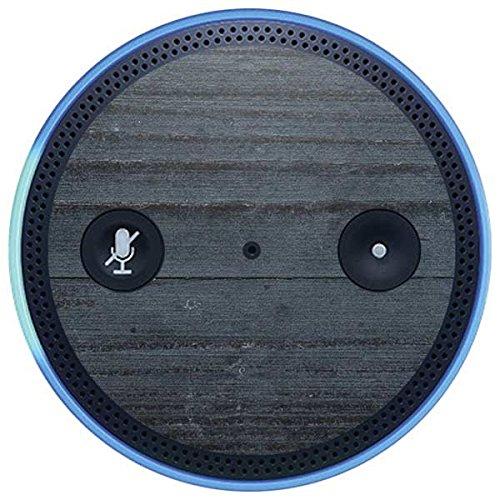 Skinit Wood Amazon Echo Plus Skin - Charcoal Wood Design - Ultra Thin, Lightweight Vinyl Decal Protection