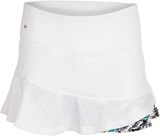 Boll/é Womens Footloose Printed Tennis Skirt With Built In Shorts