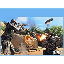 SDore CALL of DUTY COD Black Ops Xbox One PS4 Birthday 1/4 Sheet Image Frosting Cake Topper
