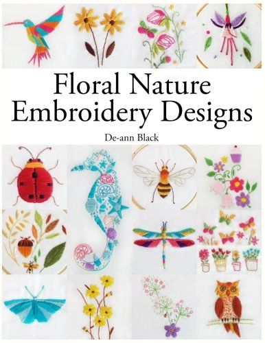 Floral Nature Embroidery (Floral Embroidery Design)