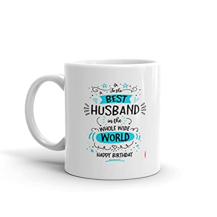 04ed0811331 Buy CraftMania Best Husband Coffee Mugs - Gift for Husband - Most ...