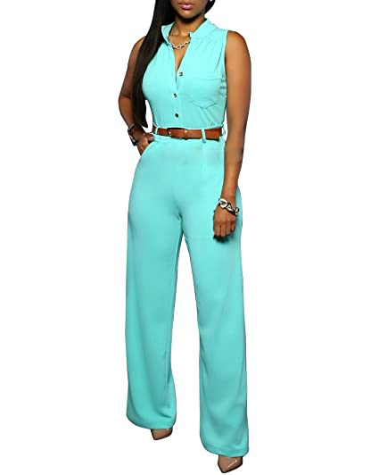 SaiDeng Mujer Sin Tirantes Jumpsuit Body Pelele Bodysuit Peplum Party Zarco XXL: Amazon.es: Ropa y accesorios