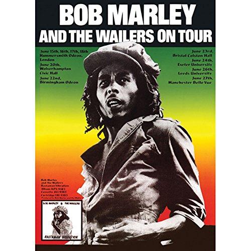 Bob Marley - Concert Promo Poster