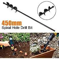 Aoile 4x22CM/4x45CM/5x22CM Spiral Hole Drill bit for Garden