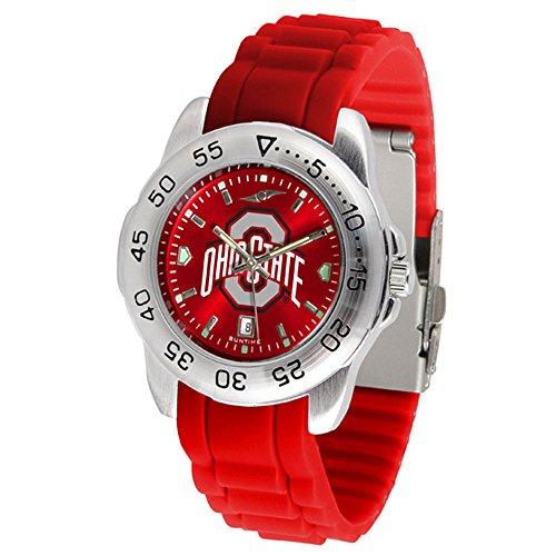 - Ohio State Buckeyes Sport Silicone Men's Watch