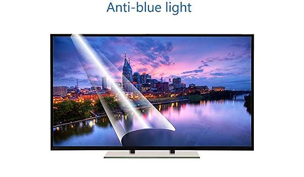 DPLQX Azul Claro contra Pantalla del televisor Filtro de 42 Pulgadas, Pantalla película Protectora Mate antideslumbrante, Reducir los Ojos y la tensión Fatiga de los Ojos, por LCD, HDTV OLED LED,A: Amazon.es: