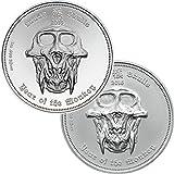 2016 PW 2 COIN MATCHED SET %2D Lunar Sku