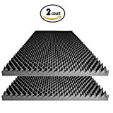 sound absorbing wall panels - Acoustic Foam Egg Crate Panel Studio Soundproofing Foam Wall Panel 48