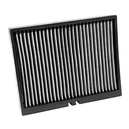 - K&N VF2027 Washable & Reusable Cabin Air Filter Cleans and Freshens Incoming Air for your Chrysler, Dodge