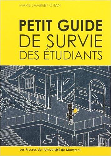 Livre Petit guide de survie des étudiants pdf