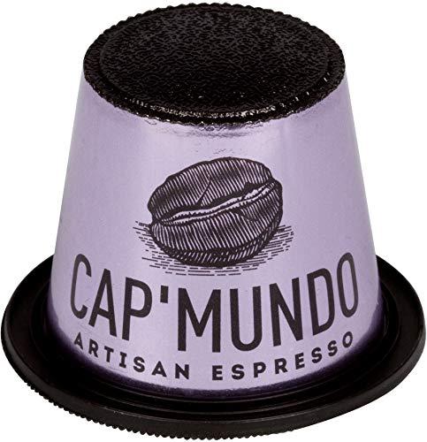 - Cap'Mundo Paris 50 Pods for Nespresso Original Line Machines - Lungo, 100% Arabica Coffee - French Artisanal Espresso (Lungo Umbila, 50 Capsules)