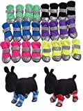 Glumes Pet Boots Dog Boots 2018 New Waterproof Pet Dog Puppy Rain Snow Camouflage Boots Shoes Booties Rubber Anti-Slip for Various Size Dogs Labrador Husky Paw Protectors Shoes Clearance !!!