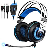 Best Headset For Xbox Ones - Gaming Headset for Xbox One PC, SADES PS4 Review