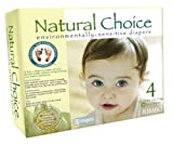 Natural Choice Environmentally-Sensitive Diapers, Large Size 4, 22-37 Pounds (180 Diapers)