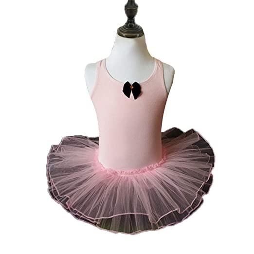 Niñas Camisola Vestido de ballet Falda Leotardo Vestido de tutú ...