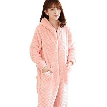 62c856e88 AXIANQI Nuevos Pijamas De Una Pieza De Otoño E Invierno De Manga Larga De Dibujos  Animados