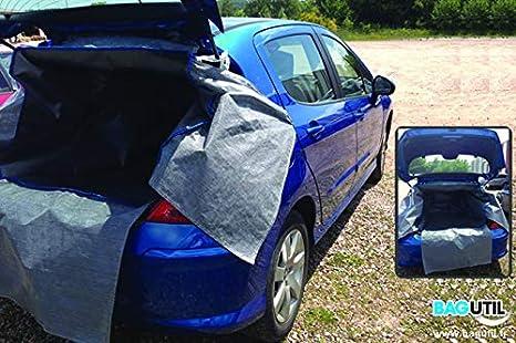 B/âche Voiture Compatible avec Peugeot 206 Protection contre les intemp/éries Auto Protector Imperm/éable Ext/érieur complet Couvertures Protection UV Automobiles Ext/érieur Abris de voiture Protection sol