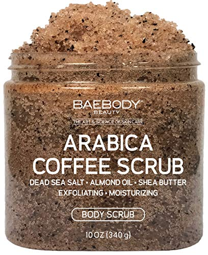 Baebody Arabica Coffee Exfoliating amp Moisturizing Scrub 10 Ounces