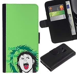 NEECELL GIFT forCITY // Billetera de cuero Caso Cubierta de protección Carcasa / Leather Wallet Case for Samsung Galaxy S3 MINI 8190 // Popper Pill