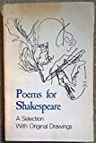 img - for A selection from Poems for Shakespeare, volumes 1 to 6 book / textbook / text book