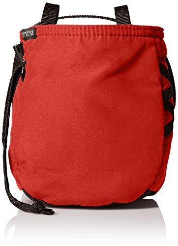 prAna Zipper Chalk Bag, One Size, Scarlet Red