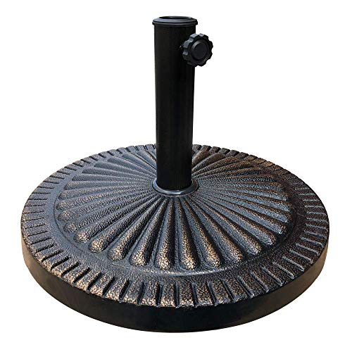 EliteShade Umbrella Base Stand Heavy Duty Market Patio Outdoor Umbrella Holder, Bronze