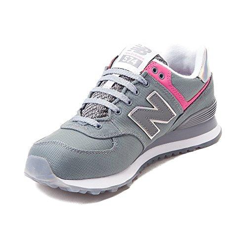 Nieuw Evenwicht Vrouwen Wl574 Kern Plus-w Lifestyle Sneaker Grijs Roze 1520