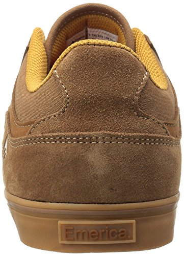 Low Gum Skateboard Hsu The Uomo da Scarpe Emerica Vulc Brown EPv4vq