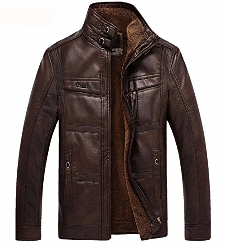 Business Men Leather Jackets - 8