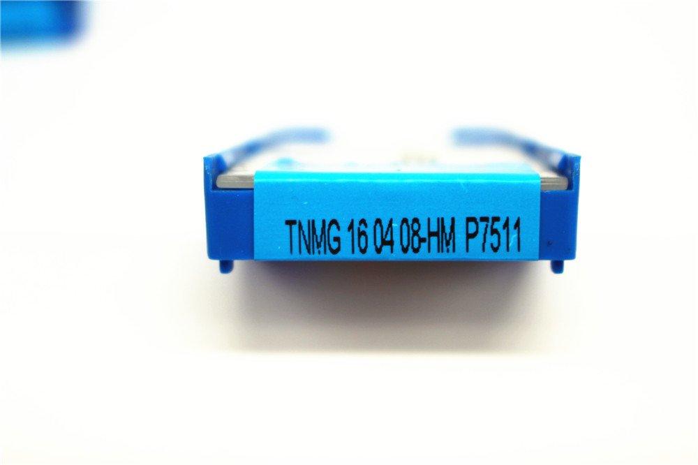 10pcs  CNMG120404-HM  P7211   Carbide Incerts Cutting Tool Iathe CNC Steel