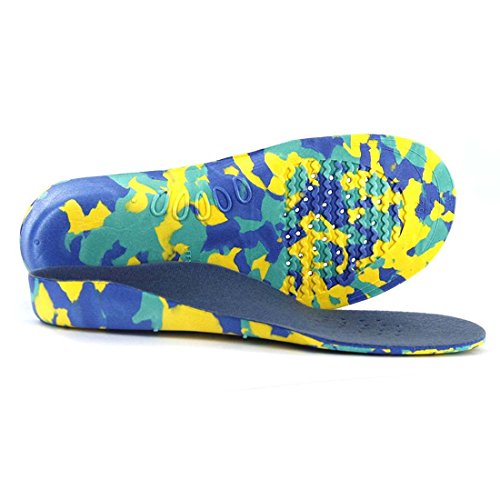 SODIAL 1 Pair Orthopedic Insoles Kids' Arch Support Pads (M)