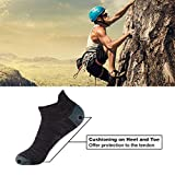 Athletic Running Socks, Luccalily Unisex Heel Tab