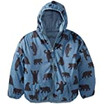 Hatley Little Boys Reversible Jacket-Bear