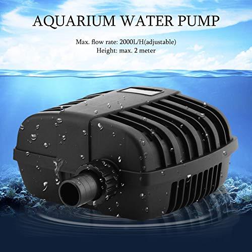 Matthew00Felix Einstellbarem Durchfluss Eco Tauchpumpe CFP-2000 Schmutzwasserfilterpumpe