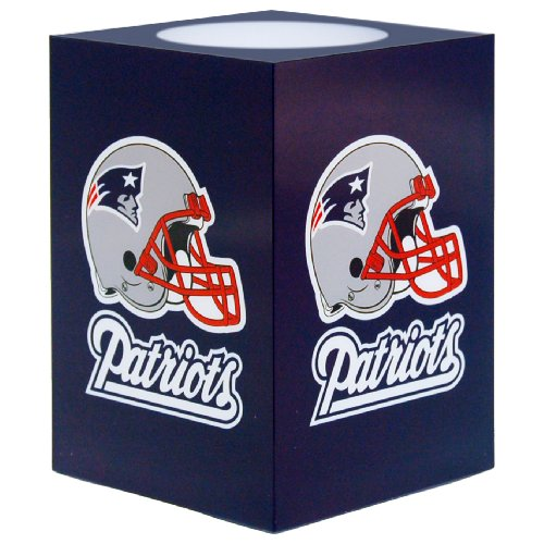 Nfl Candle - NFL New England Patriots Square Flameless Candle