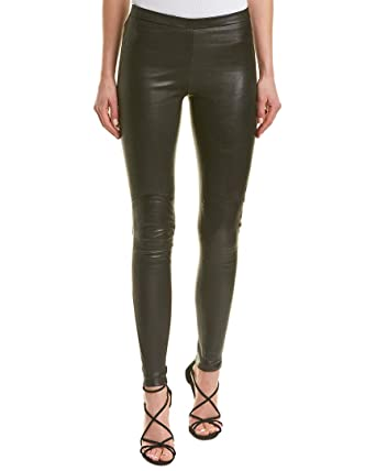 63110f2beab145 LAMARQUE Women's Kelly-L Stretch Leather Leggings at Amazon Women's  Clothing store: