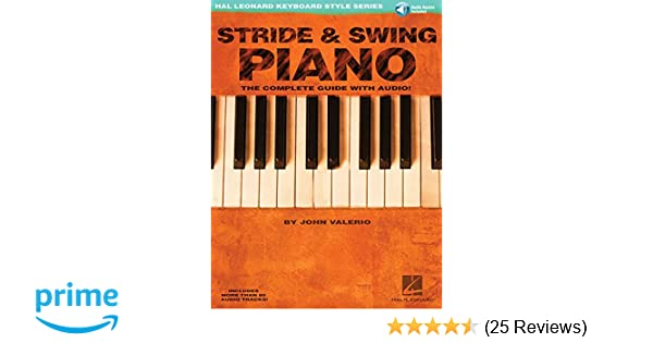 Stride swing piano hal leonard keyboard style series john stride swing piano hal leonard keyboard style series john valerio 8601400676400 amazon books fandeluxe Images