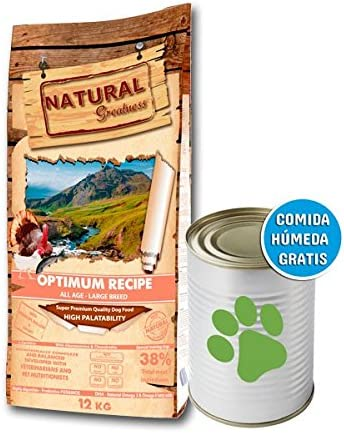 Natural Greatness Optimum Large Breed Alimento Seco Completo para ...