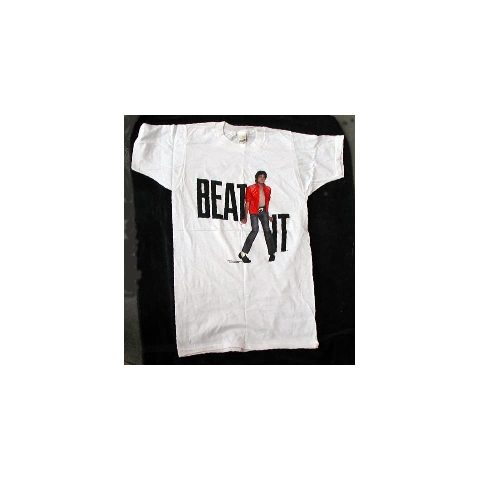 Michael Jackson Beat It T Shirt from 1983   Size Medium
