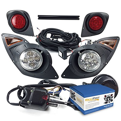 NEW RecPro Yamaha Drive G29 Golf Cart 2007-UP DELUXE ALL LED Street Legal LIGHT KIT