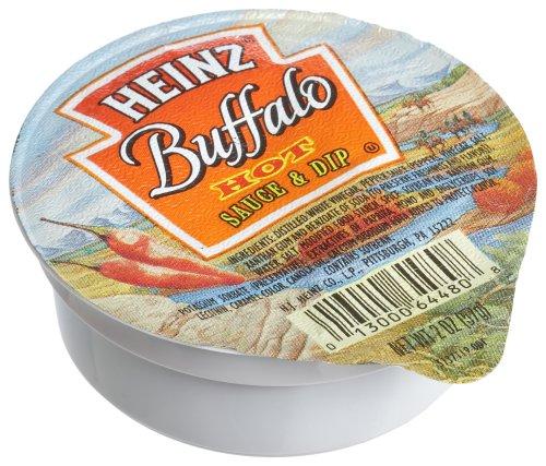 Buffalo Wing Dip (Heinz Buffalo Hot Wing Dip, 2-Ounce Dipping Cups (Pack of 60))