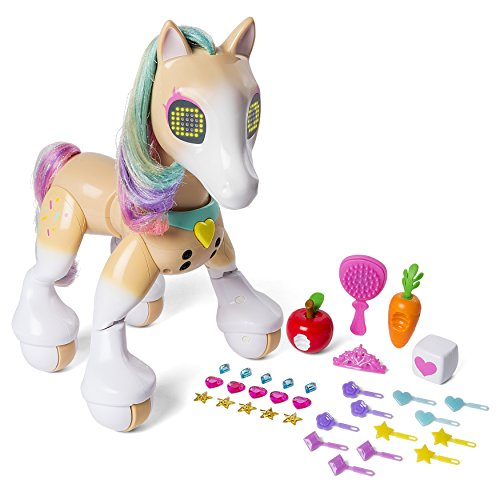 Stylish Interactive Toy Fashion Pony with Sounds and Movement (Queen Mary Tiara)