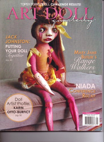 ART DOLL Quarterly Magazine - Vol 11. #1. Feb/March/April 2013.