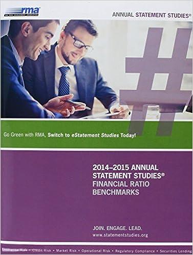 Amazon.com: Rma Annual Statement Studies: Financial Ratio ...