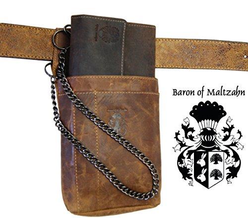 En Marron Cuir De Brousse Holster Serveur Baron Alpha Maltzahn FHwO8
