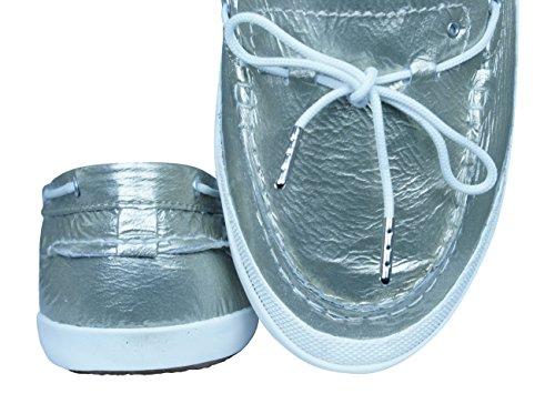 del la Mujer Zapatos barco Patent Sunniva Tretorn Taupe de nwSgt6