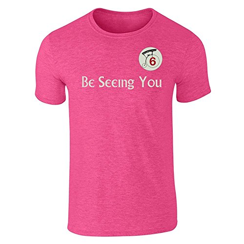 Be Seeing You Number 6 Cult Halloween Costume 60s Short Sleeve T-Shirt